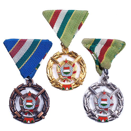 Socialist Hungarian Brother's In Arms Medals (Complete Set)