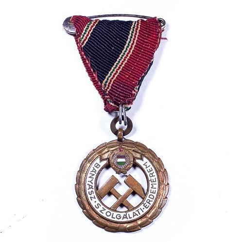 Hungarian Medal for Mining Merit, 1949
