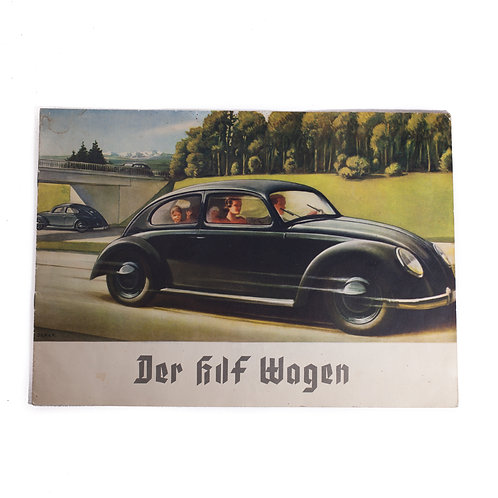 Promotional Sales Booklet for the KDF Wagen (Volkswagen))