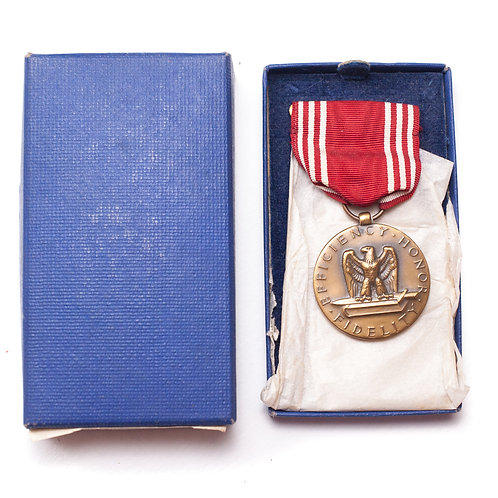 US Army Good Conduct Medal (Boxed, 1944)