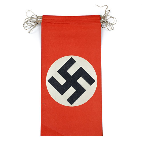 A Set Of 14 Paper NSDAP Flags
