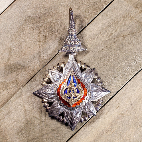 The Most Noble Order of the Crown of Thailand (3rd Class, Commander)