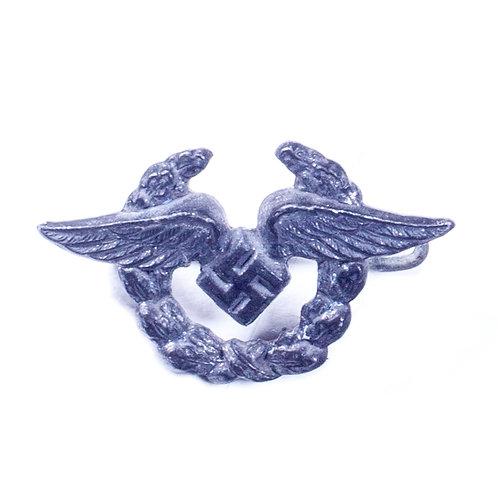 WWII German Luftwaffe Civilian Personnel Lapel Badge