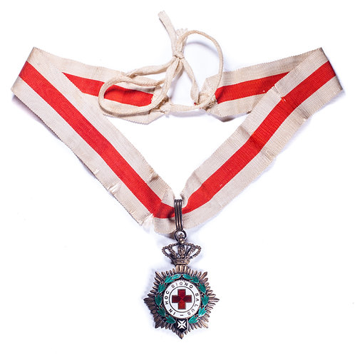 Spanish Order Of The Red Cross (3rd Class / Commander)