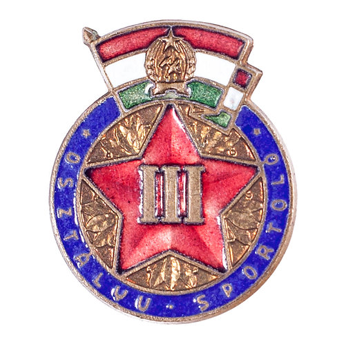 "Hungarian ""3rd Class Athlete"" Sports Badge"