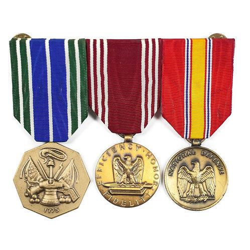 """3rd U.S. Infantry Regiment """"Old Guard"""" Medal Bar"""