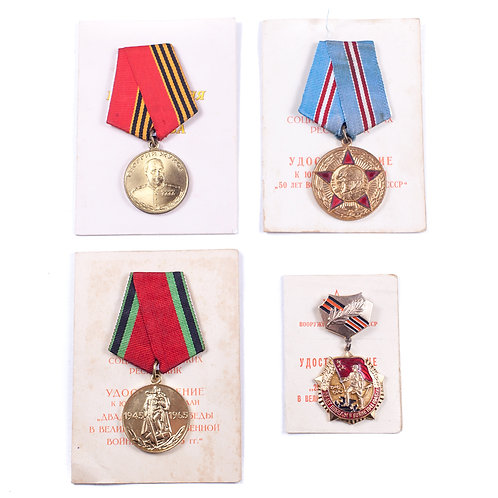 Soviet/Ukrainian Award Grouping (Kryzhanovsky)