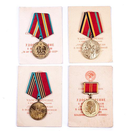 Soviet Award Grouping (Kazaev)
