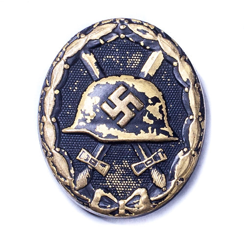 WWII German Black Wound Badge (Unmarked)