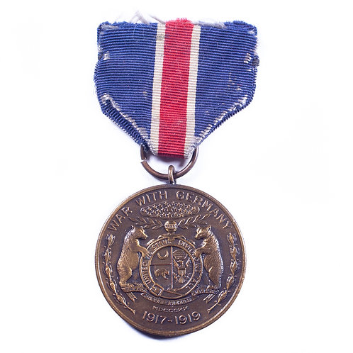 Missouri State Medal for Service in WWI