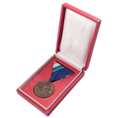 Hungarian Medal for Flood Prevention (Cased)