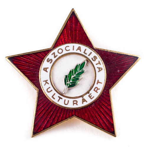 "Hungarian Award ""For Socialist Culture"""