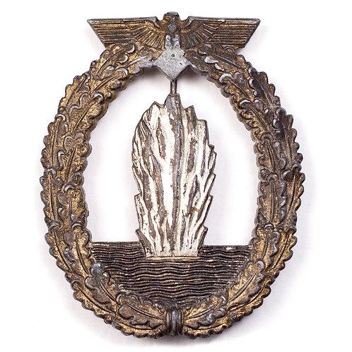 Kriegsmarine Minesweeper Badge (Denazified)