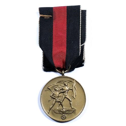 WWII German Sudetenland Medal