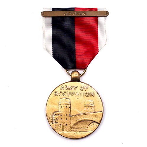 US Army Of Occupation Medal (Japan Bar)