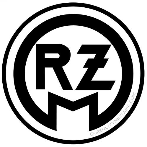 """3"""" RZM Logo Car Magnet"""