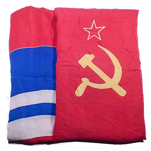USSR, Flag of the Socialist Republic Of Estonia (Silk)