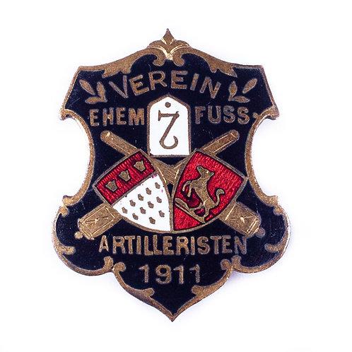 Pre-WWI German Veteran's Organization Badge