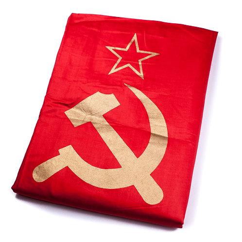 Red Banner of the Soviet Union (Ukrainian made)