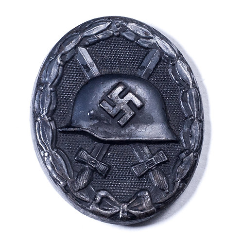 WWII German Black Wound Badge (Marked 107)