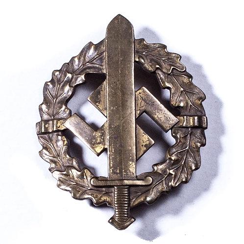 WWII German SA Badge in Bronze (Type 1)