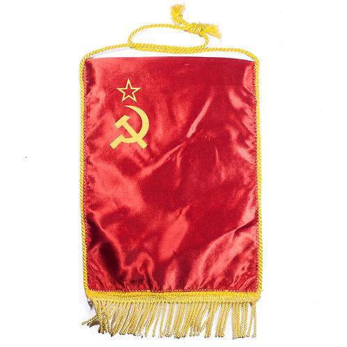 Soviet Red Banner Table Flag/Pennant