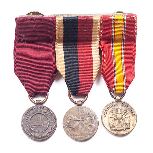 Miniature US 3 Position Medal Bar