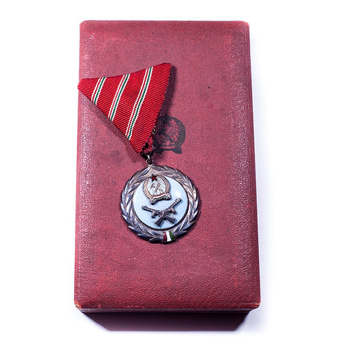 Hungarian Military Merit Medal (Cased)