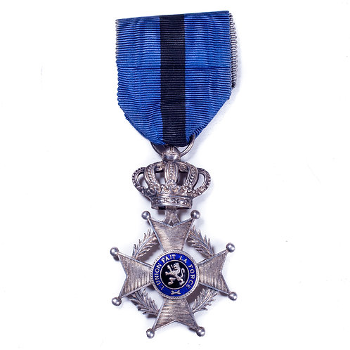 Pre-WWII Belgian Order of Leopold II (5th Class/Knight)
