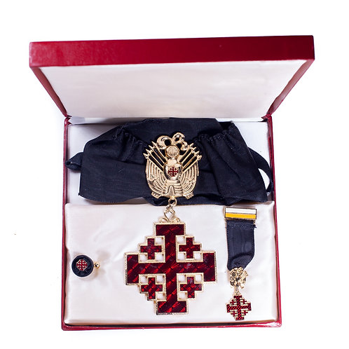 Order of the Holy Sepulchre, Cased Set (Knight Commander)