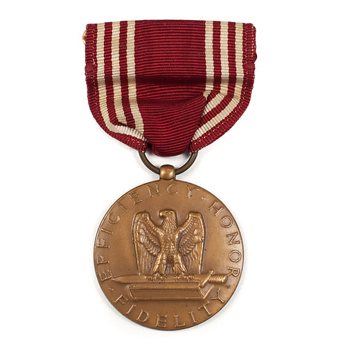 US Army Good Conduct Medal, WWII.