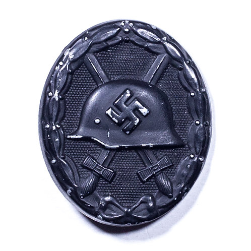 WWII German Black Wound Badge (Marked 93)