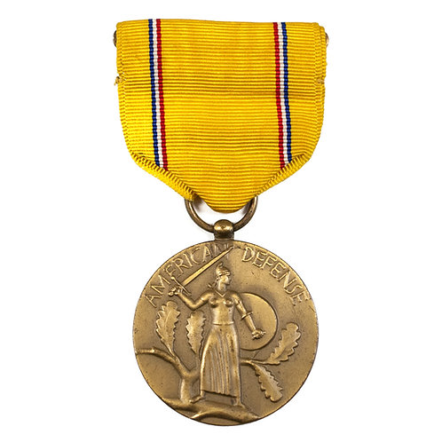 WWII American Defense Service Medal