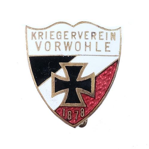 Imperial German Veterans Organization Badge (Verwohle)