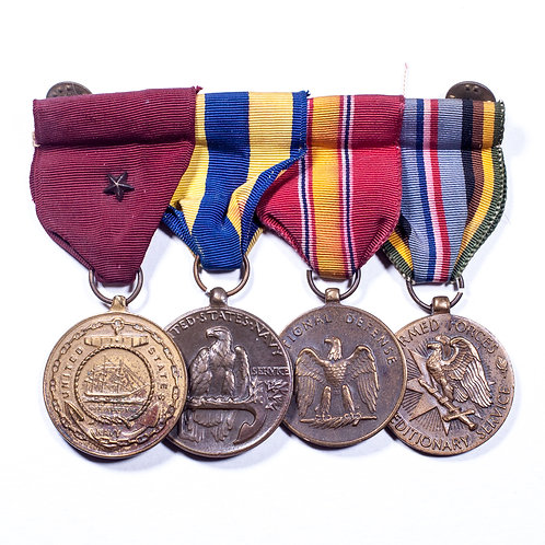4 Position US Medal Bar (Vietnam Era)