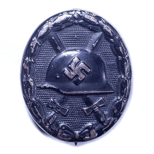WWII German Black Wound Badge (Marked 84)