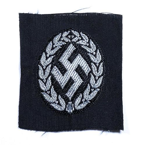 WWII Germany, Schuma EM/NCO M43 Cap Insignia