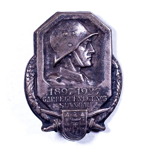 Commemorative Badge for Garde-Grenadier-Regiment Nr. 5 (Spandau, 1927)
