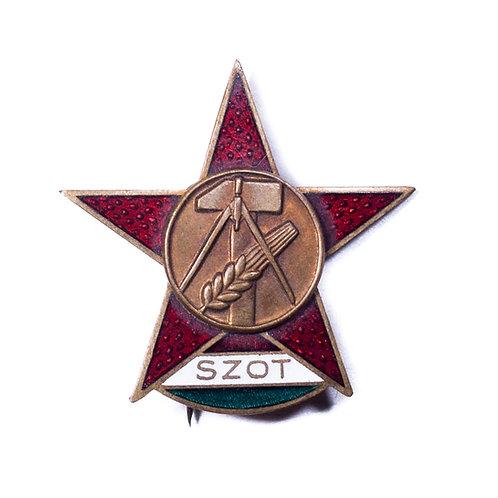 Hungarian SZOT Badge (Bronze)