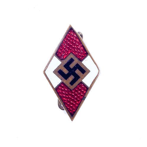 WWII German Hitler Youth Membership Badge (RZM M1/159)