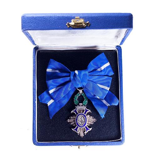 Spanish Order of Civil Merit (5th Class, Knight)