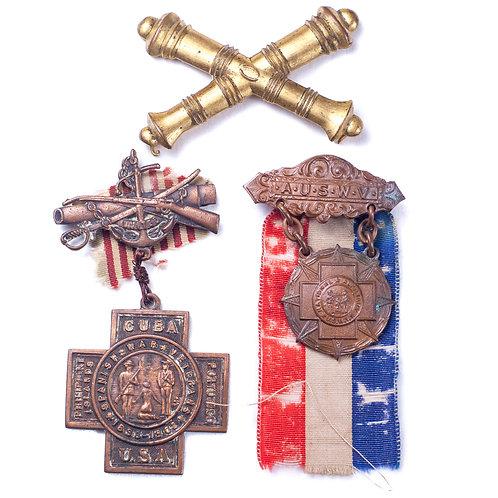 US Spanish American War Lot