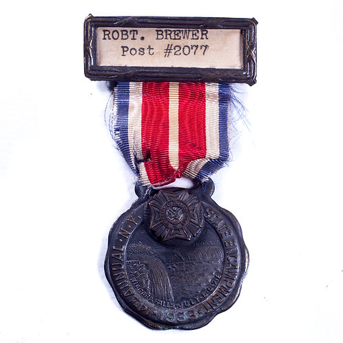 14th Annual NY State VFW Encampment Medal, 1933.