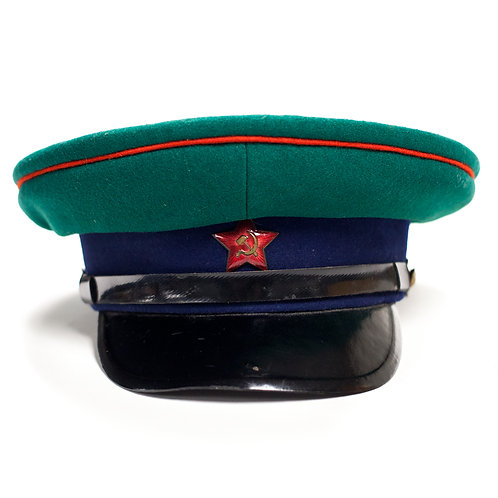 Soviet Russian Border Guard Visor Cap (Early)