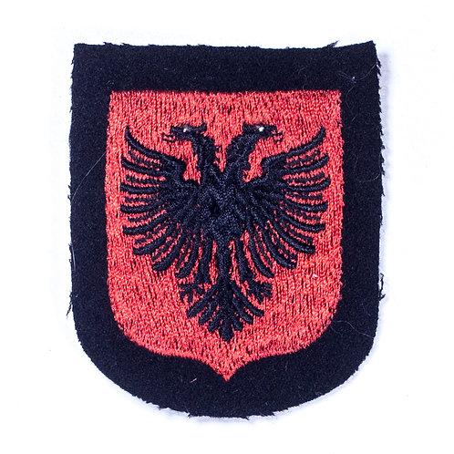 Unissued Waffen-SS Volunteer Sleeve Shield (Albania)