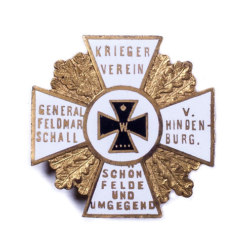 WWI German Veterans Badge (Schönfeld)
