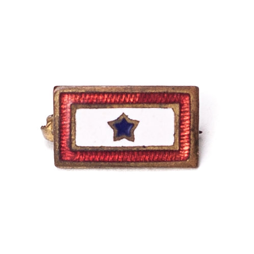 """WWII-era US """"Son-in-Service"""" badge"""