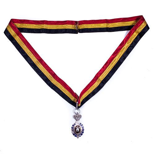 Belgium, Labour Decoration (Neck Ribbon for Female Recipient)