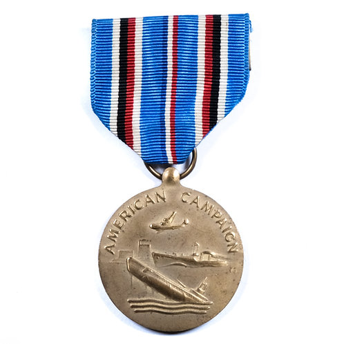 WWII US American Campaign Medal (Restrike)