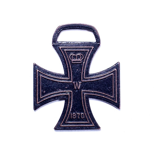 1870 German Iron Cross Watch Fob